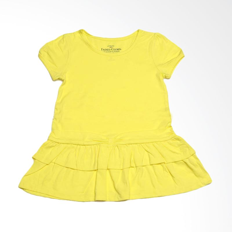 Faded Glory Yellow Dress Anak Perempuan