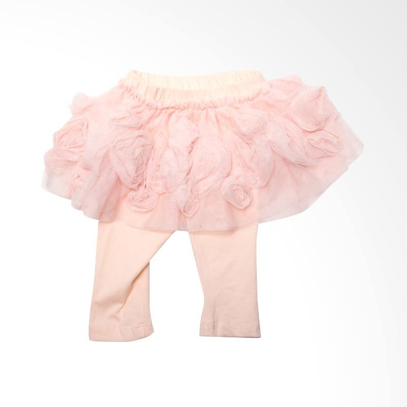 GAP Baby Bunga Tutu Peach Legging Anak