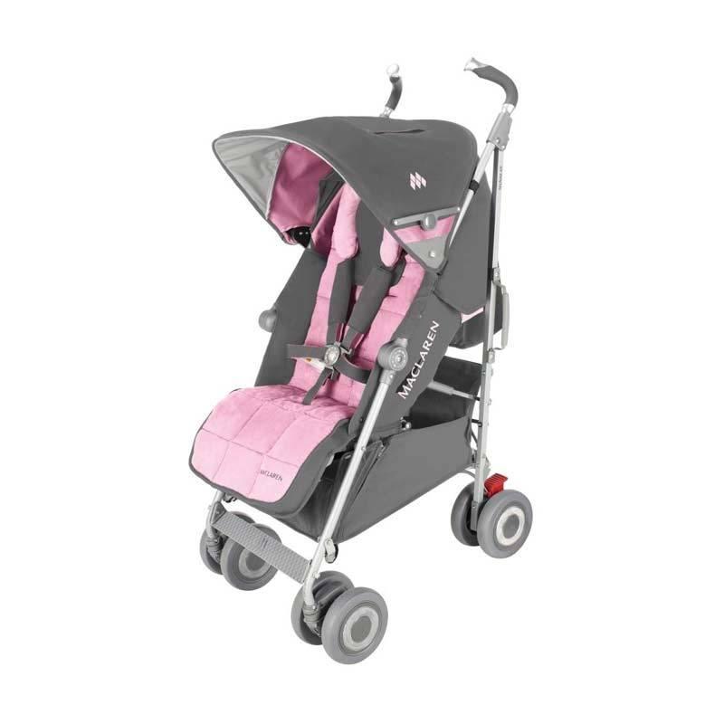 Maclaren Techno XLR Stroller Dove/Orchid Smoke