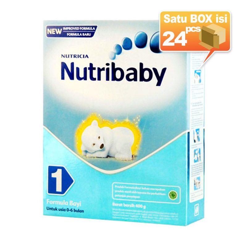 Nutribaby 1 400gr Susu Formula [24 pcs/karton]