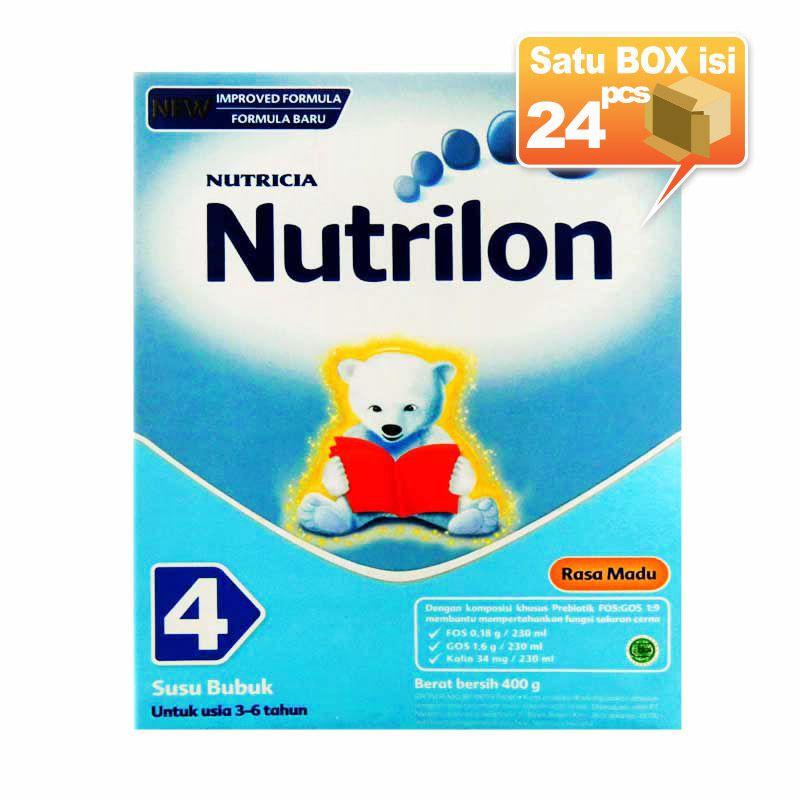 Nutrilon 4 Madu 400gr Susu Formula [24 pcs/karton]