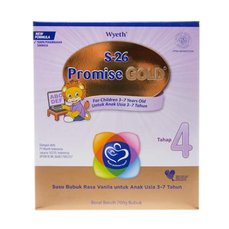 S26 Promise Gold Tahap 4 700gr