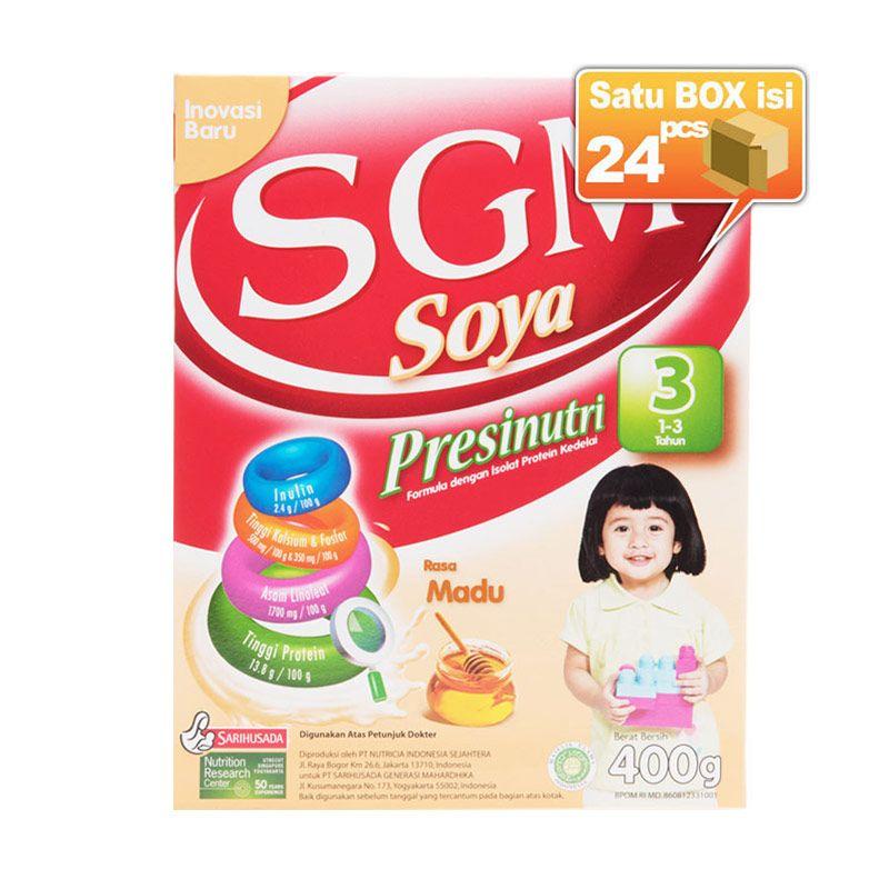 SGM Eksplor Soya Madu 400gr [24 pcs/karton]