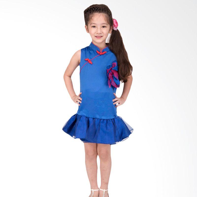 Unico Cheongsam Tutu Biru Dress Anak