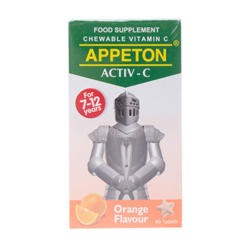 Appeton Active C 100 mg Orange Multivitamin