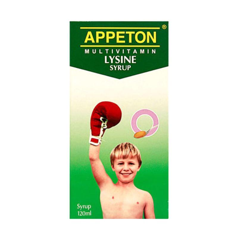 Appeton Lysine Syrup Multivitamin [120 ml]