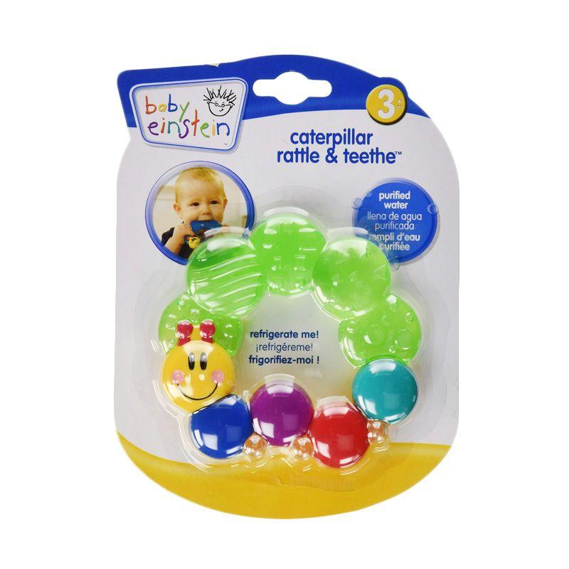 Baby Einstein Caterpilar 30975 Green Rattle & Teether