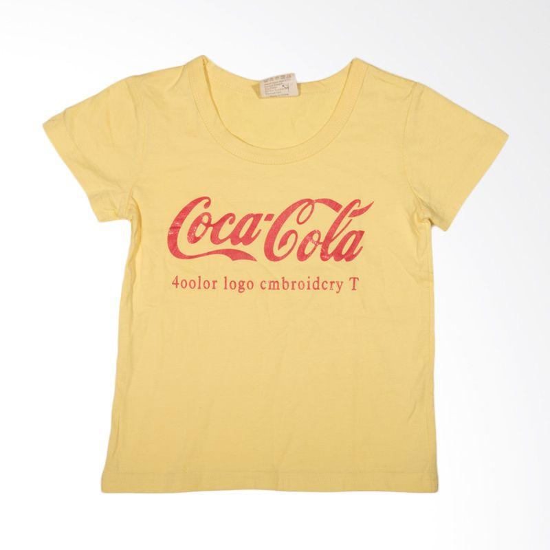 Baby M Show Coca Cola Yellow Atasan Anak