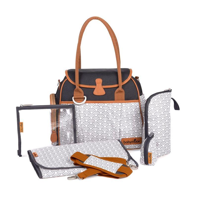 Babymoov Style Bag Black A043563 Black Tas Bayi