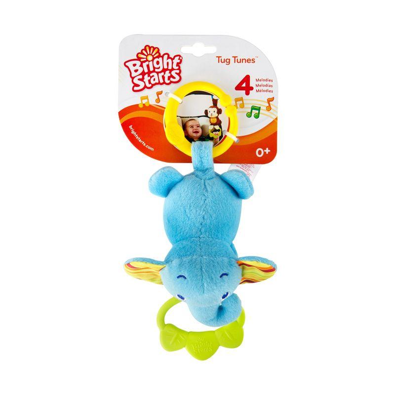 BRIGHT STARTS Tug Tunes Elephant 9179 Blue Mainan Anak