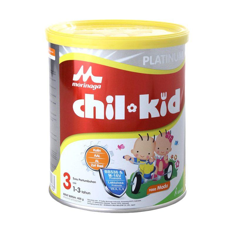 Buy 2 get Animal Bag - Morinaga Chil Kid Platinum Madu Tin Susu Formula [400 gr]