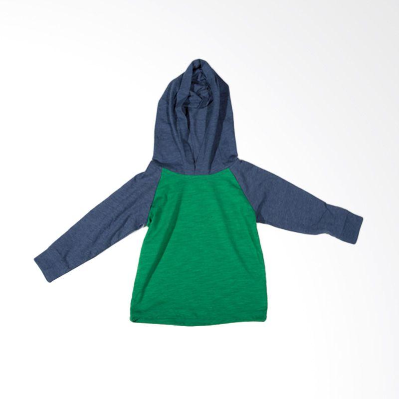Cherokee Green Sweater Anak