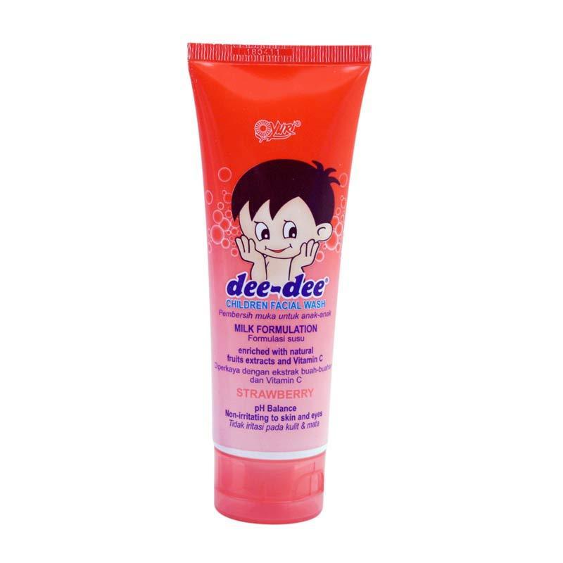 YURI Dee-Dee Strawberry Facial Wash [100 gr]