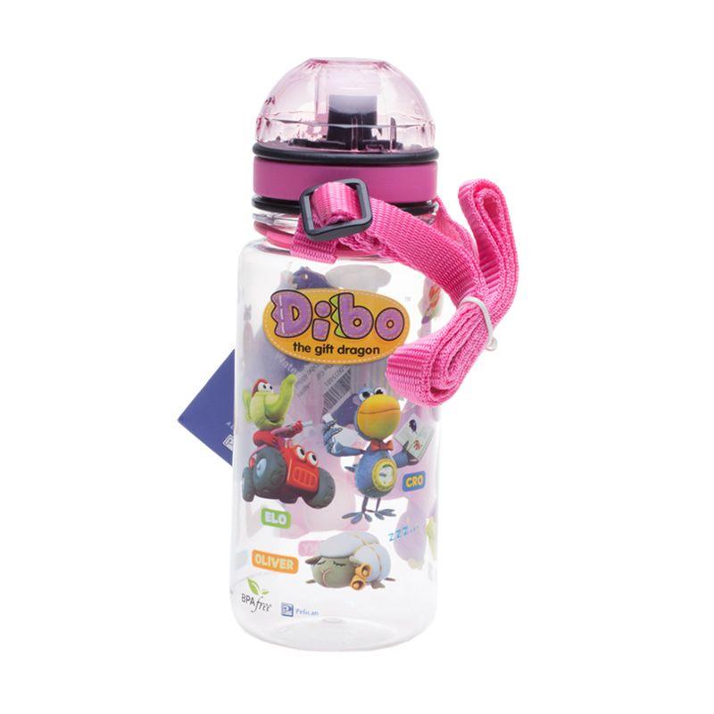 Dibo The Gift Dragons 5 Dibo Pink Botol Minum [400 mL]