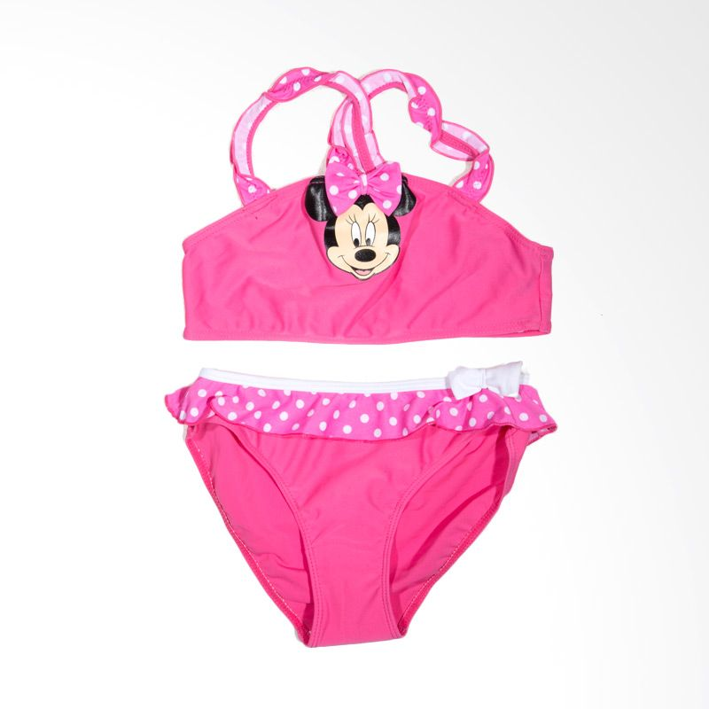 Disney Minnie Pink Baju Renang Anak