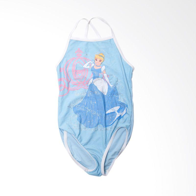 Disney Princess Cinderella Blue Baju Renang Anak