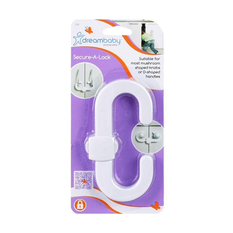 DreamBaby Secure a Lock F.132 White Alat Pengaman Bayi