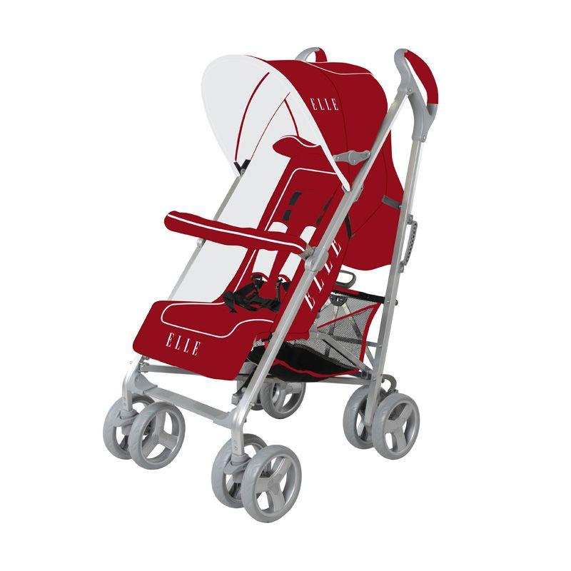 Elle Stroller Santa Cruz 13 Merah Kereta Dorong Bayi