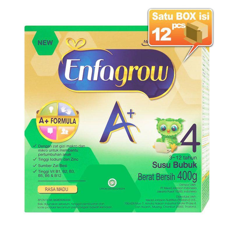 Enfagrow A+ 4 Madu Susu Formula 400gr [12 pcs/karton]