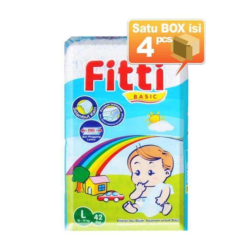 Fitti Basic L 42 Popok Bayi [4 Pcs per Karton]