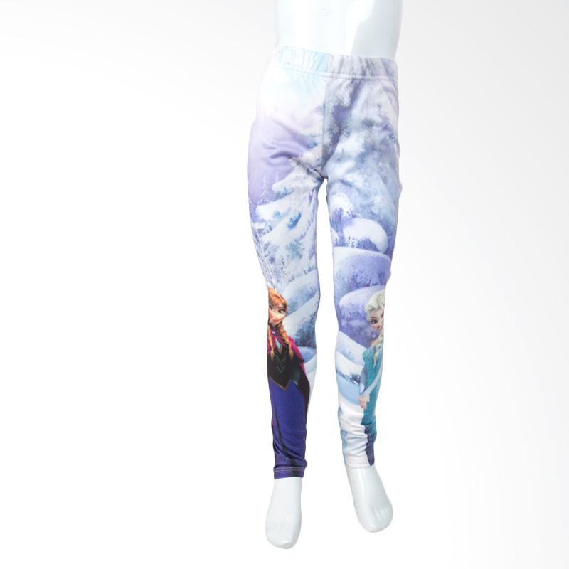Frozen Blue Legging Anak
