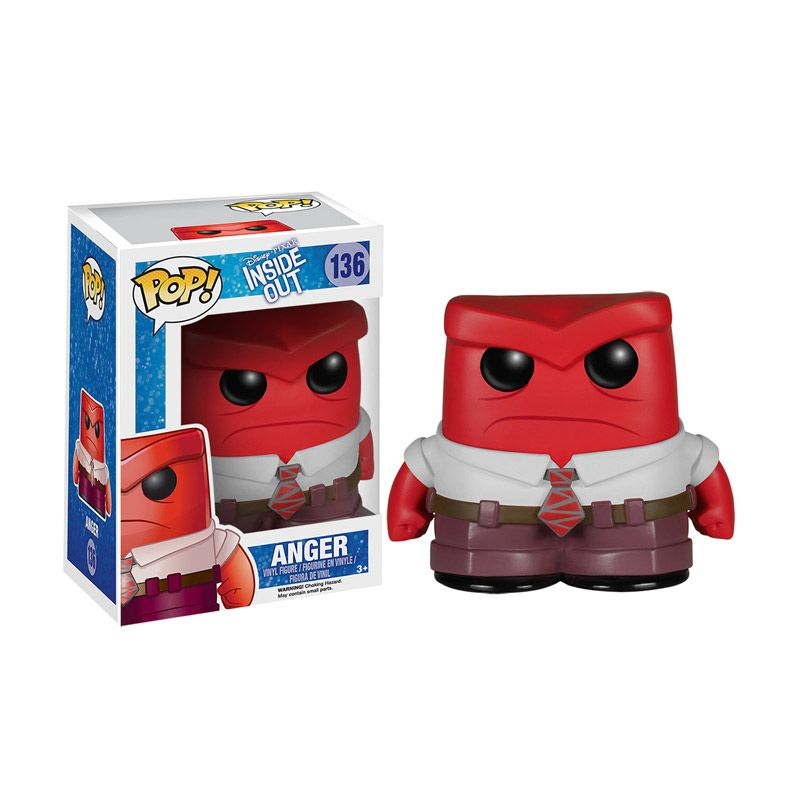 Funko POP Disney Inside Out Anger 4874 Mainan Anak