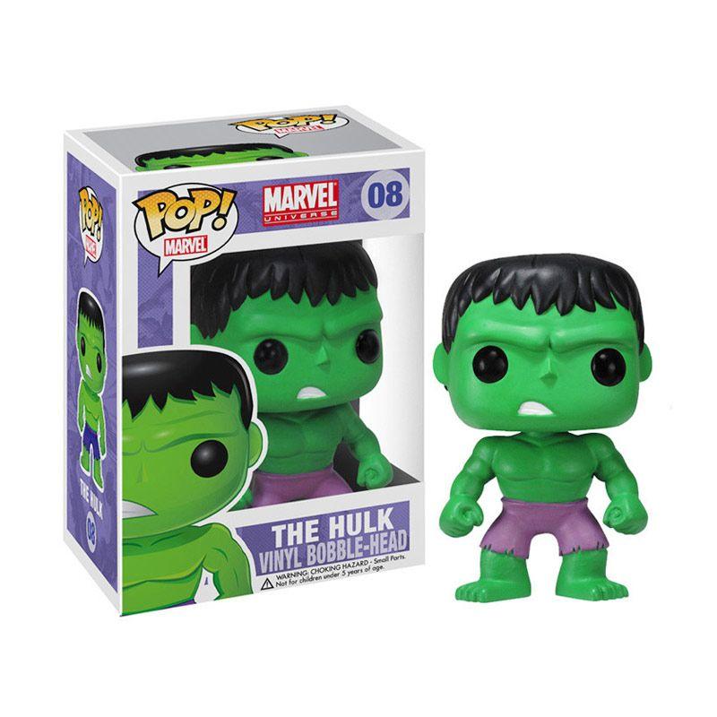 Funko Pop Marvel Incredible Hulk 2275 Mainan Anak