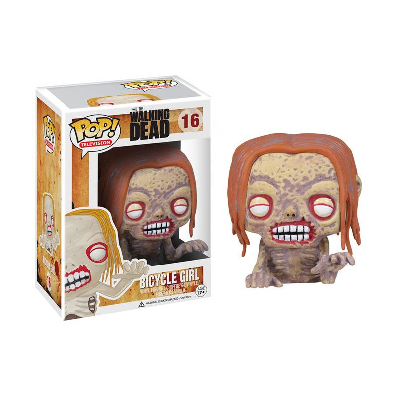 Funko Pop The Walking Dead Bicycle Girl 2953 Mainan Anak
