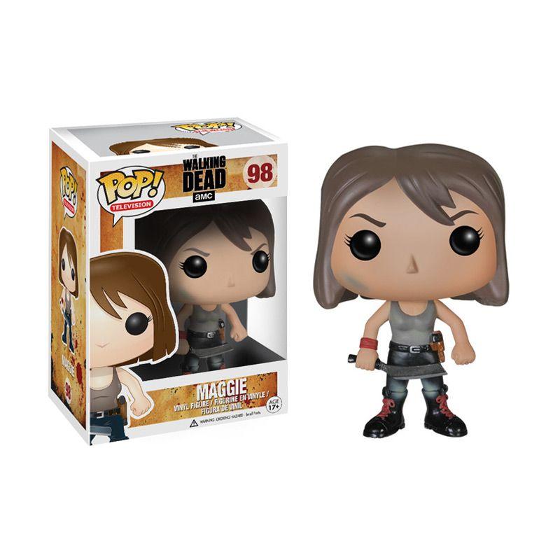 Funko Pop The Walking Dead Maggie 3803 Mainan Anak