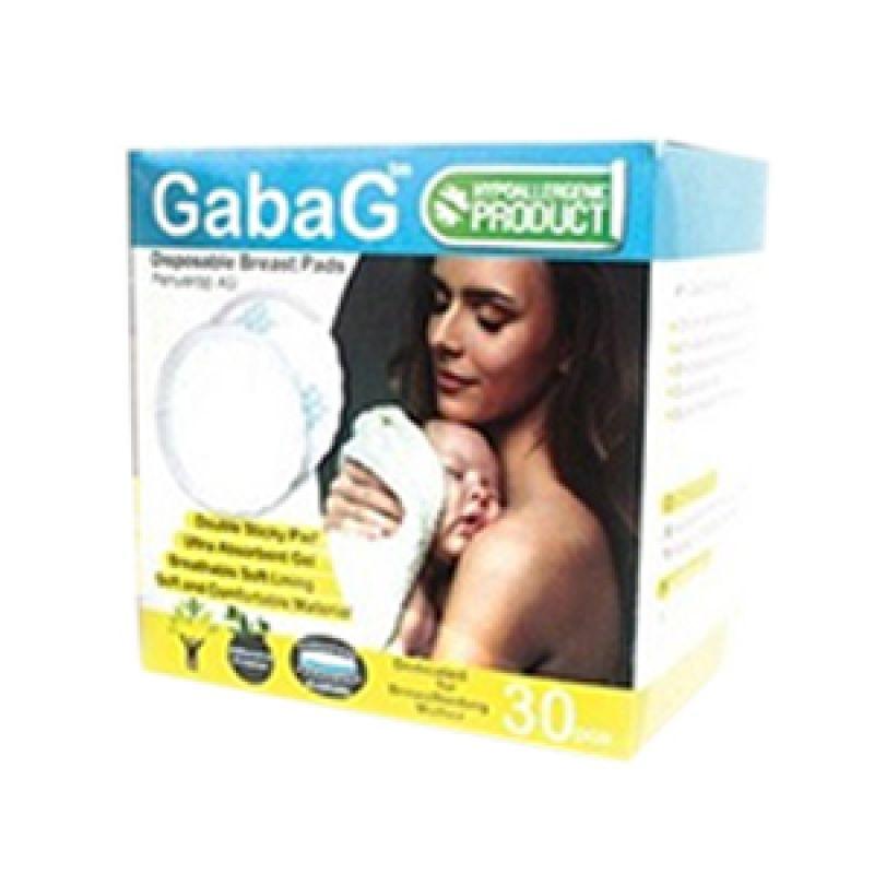 Gabag Breast Pad BP-01 Putih Perlengkapan Menyusui [30 Pcs]