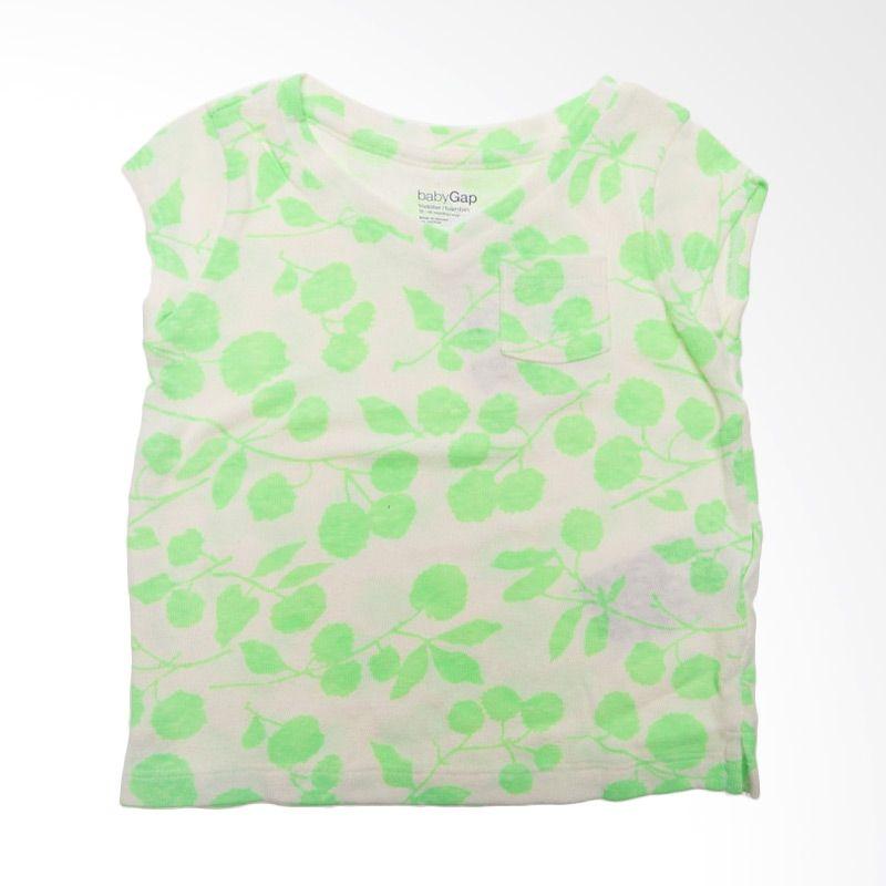 GAP Baby Leaf BO 284 Green Atasan Anak Perempuan