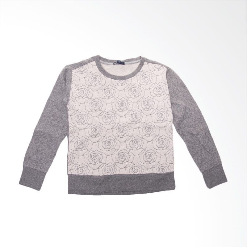 GAP Flower BO 276 Grey Sweater Anak