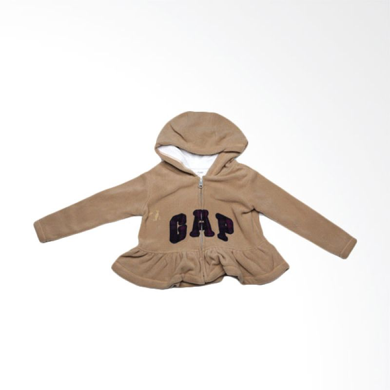 GAP Hoodie Girls Young Brown Jaket Anak [Purple]