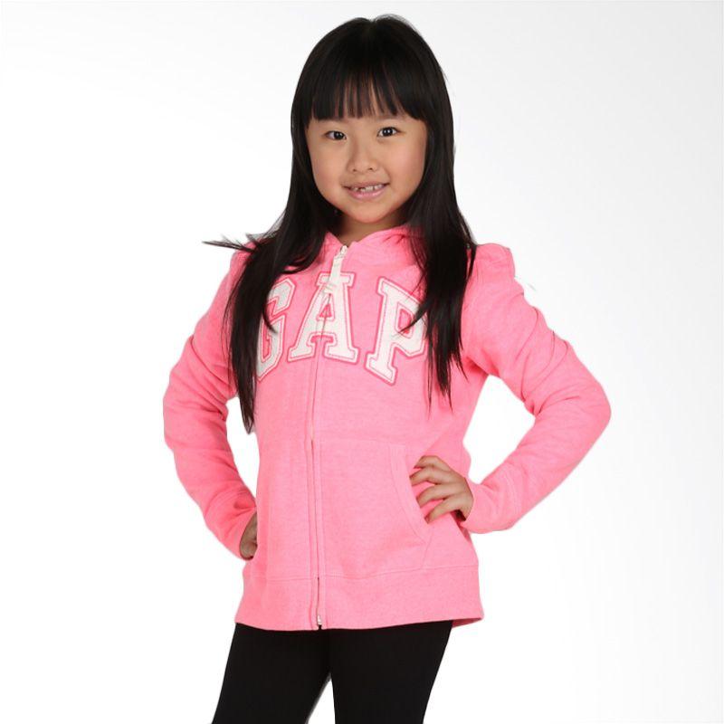 GAP Kids Stabilo Pink Jaket Anak Perempuan