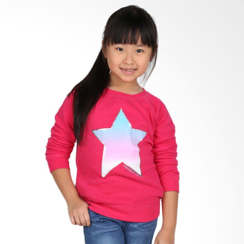 GAP Star Pink Jacket Anak Perempuan