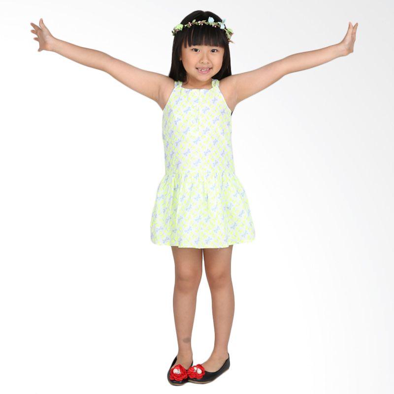 Gymboree Butterfly Yellow Dress Anak