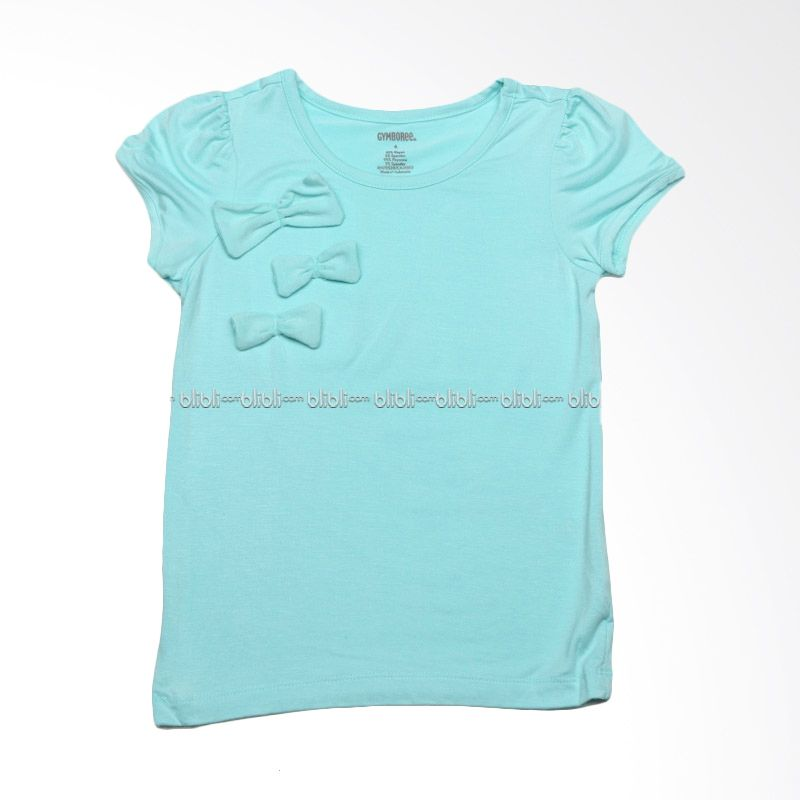 Gymboree Mint Ribbon Baju Atasan Anak Perempuan