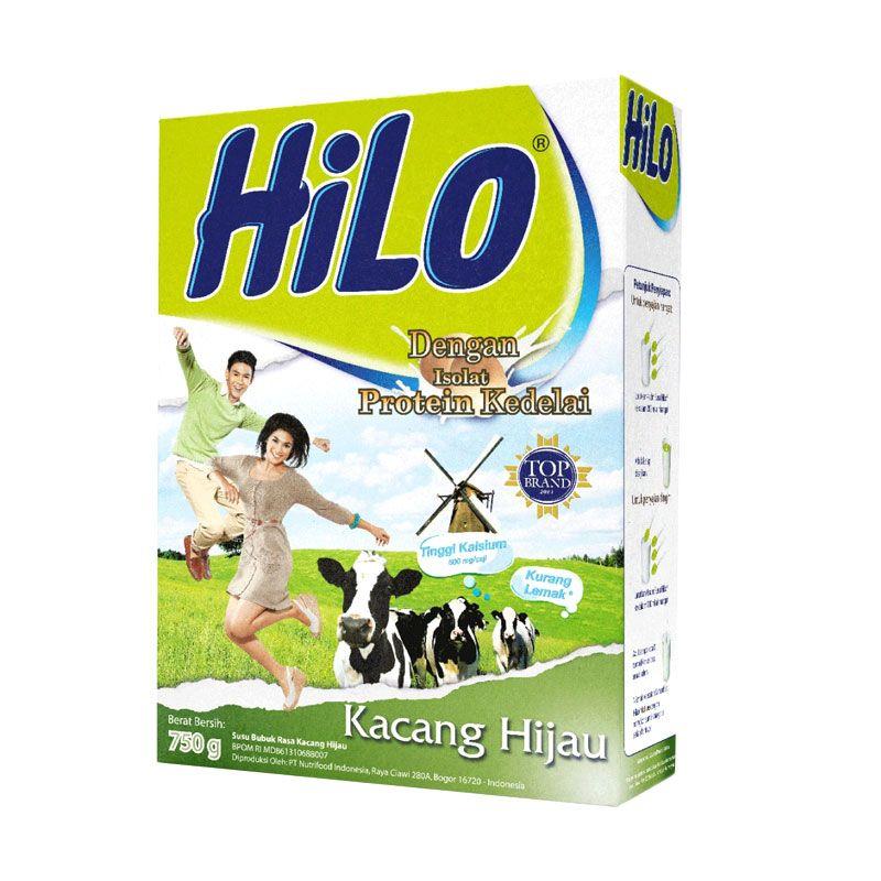 HiLo Kacang Hijau Susu Formula [750 gr]