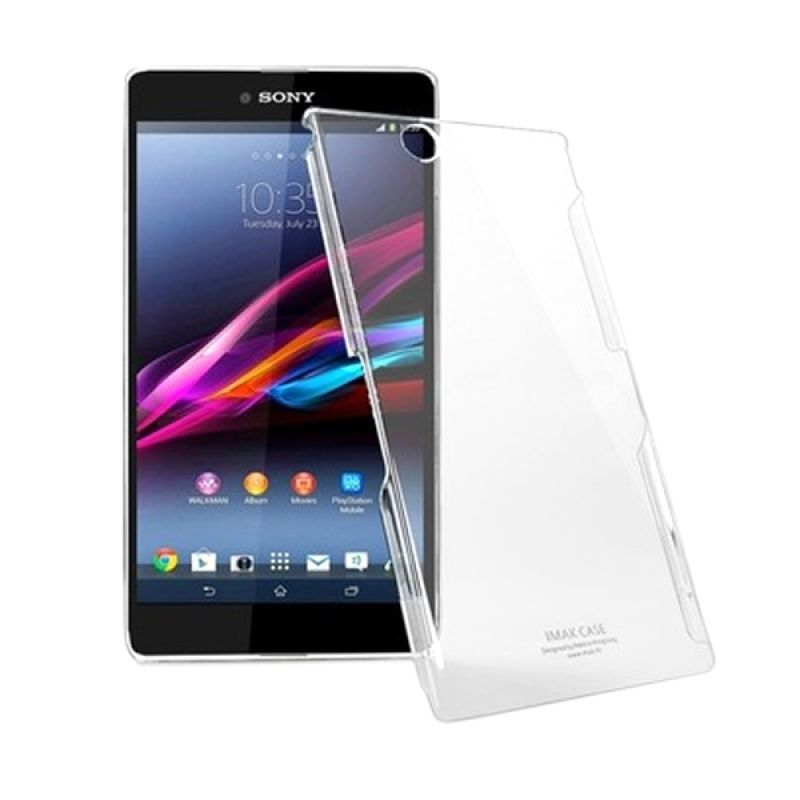 Imak Crystal II Ultra Thin Clear Hardcase Casing for Xperia Z Ultra