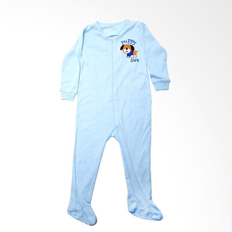 Joe Puppy Love Blue Baby Jumper