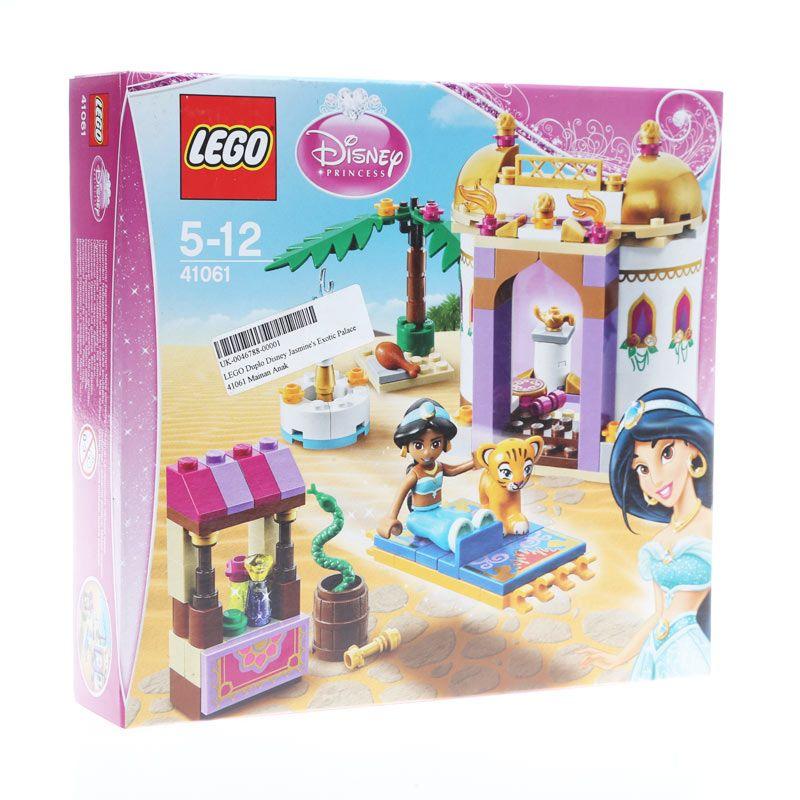 LEGO Duplo Disney Princess Jasmine's Exotic Palace 41061 Mainan Anak