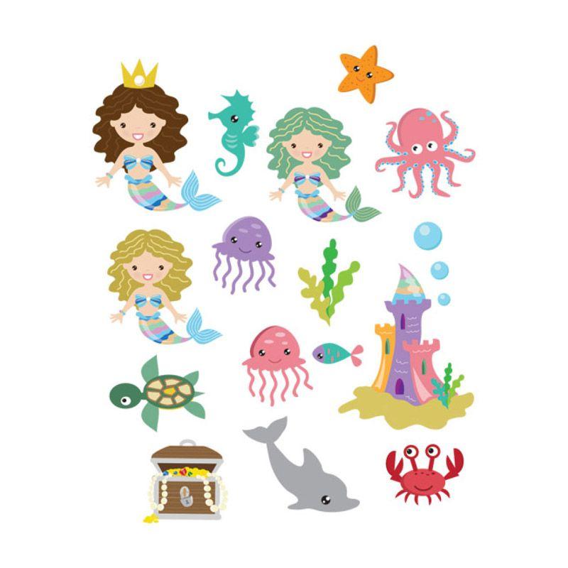 Lolitattoo Mermaid 2 LK0115 Tato Temporer