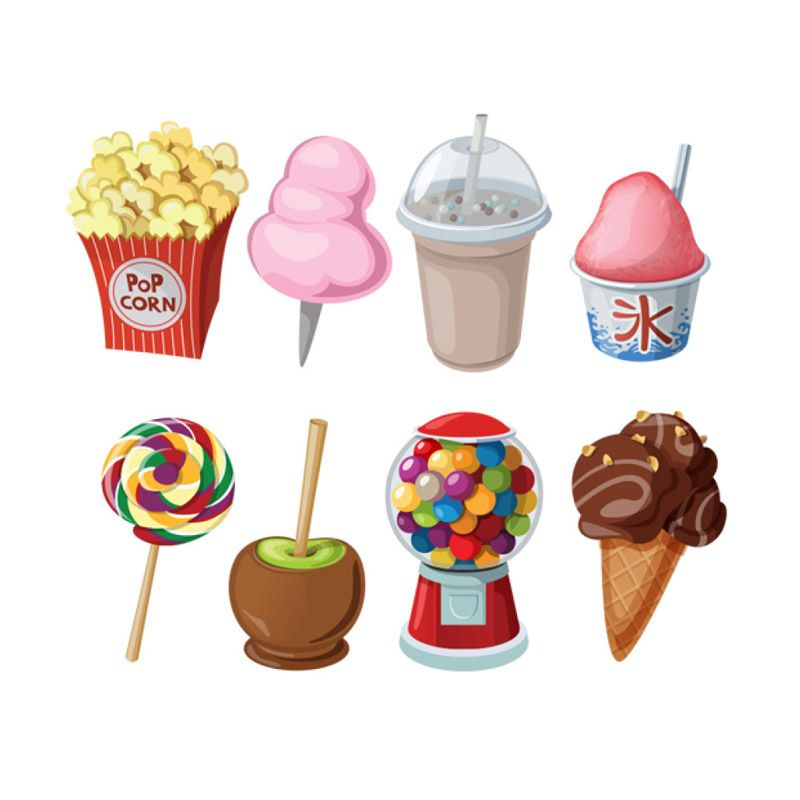 Lolitattoo Sweet Treats LA0475 Tato Temporer