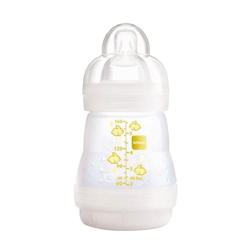 MAM Anti Colic Bottle Ivory Botol Susu [160 mL]