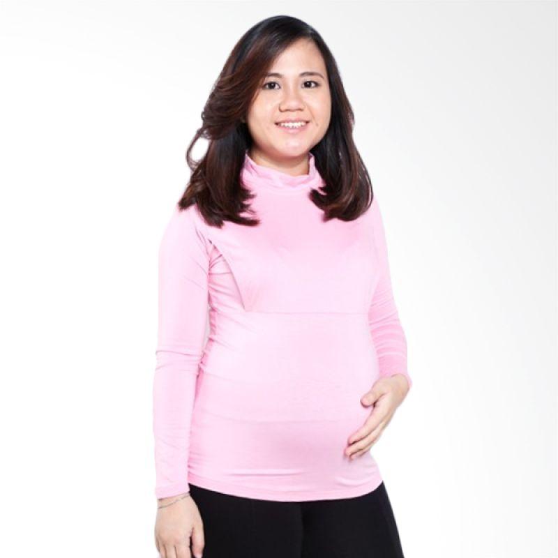 Mamigaya Elsha Manset Pink Baju Hamil