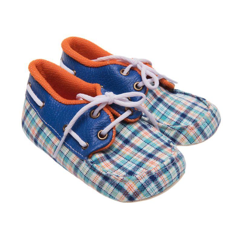 Moo's Little Cow Jackie Blue Sepatu Bayi
