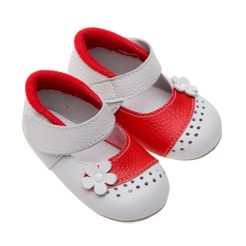 Moshiss Baby Sweetie Pie Shoe MF-RPW003 Red Sepatu Bayi