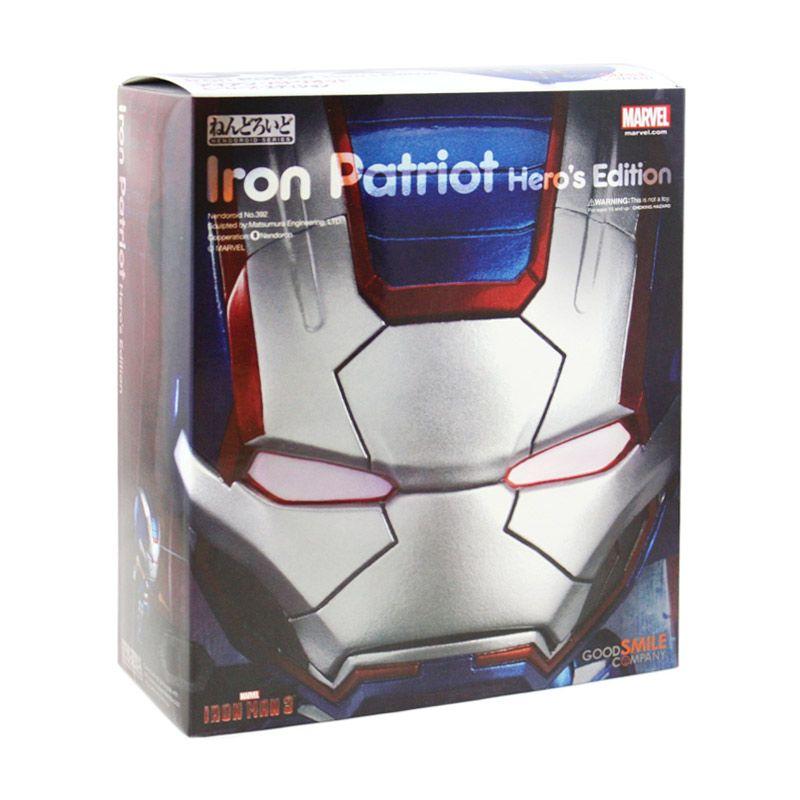 Nendoroid Iron Patriot Hero's Edition 392 Mainan Anak
