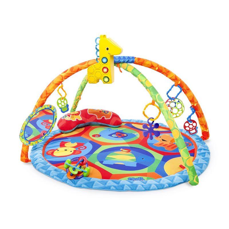 Oball O Play Activity Gym 81531 Blue Mainan Anak