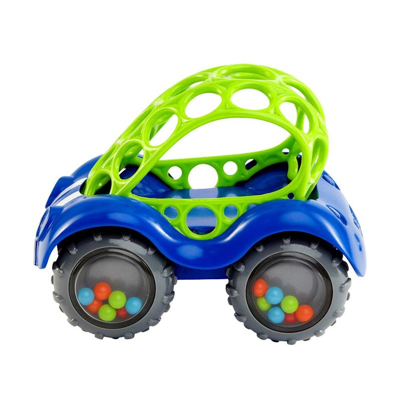 Oball Rattle and Roll 81510 Green Mainan Anak